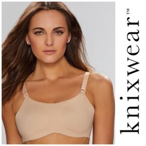NWT Knix Evolution Reversible Wire-Free Bra Nude